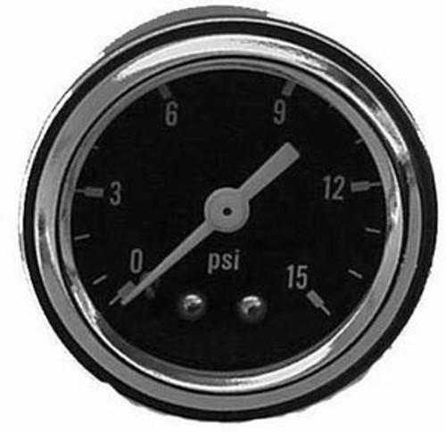 Fuel Pressure Gauge 0-15 PSI