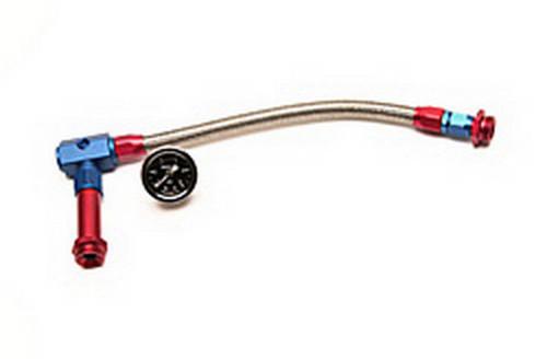 #6 Holley Fuel Line Kit w/Gauge