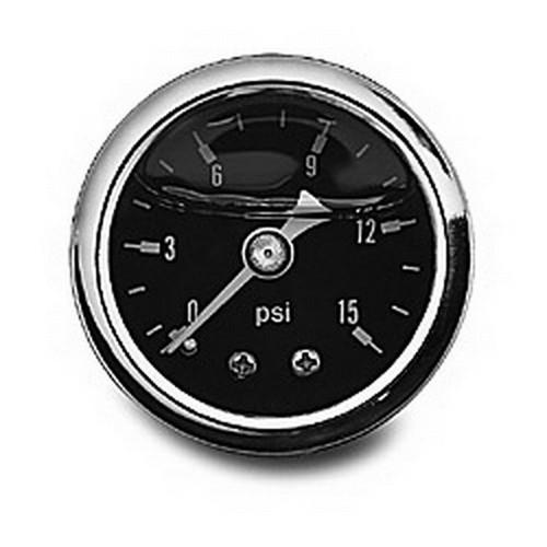 0-15 PSI Fuel Pressure Gauge