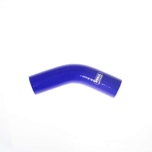 1-1/2in 45Deg Elbow Hose Blue