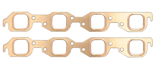 1.75 x 1.75 BBC Copper Embossed Exhaust Gasket