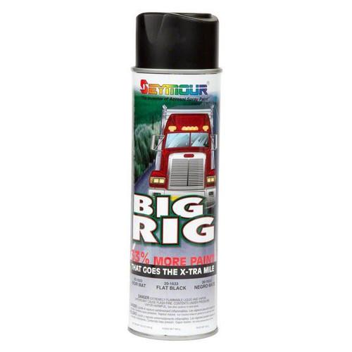 Big Rig Flat Black Paint