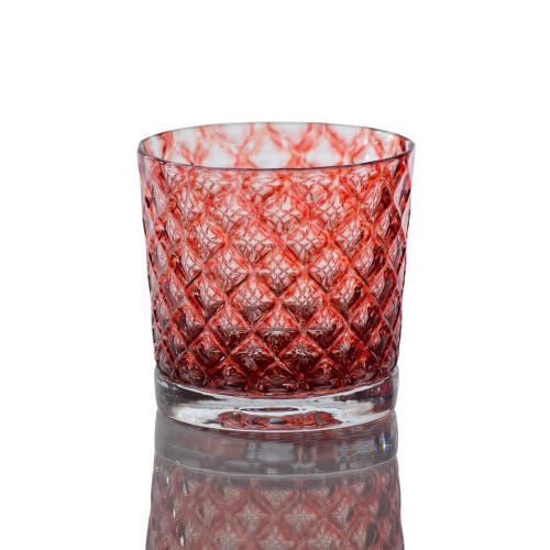 Black Cherry Mindala Glass