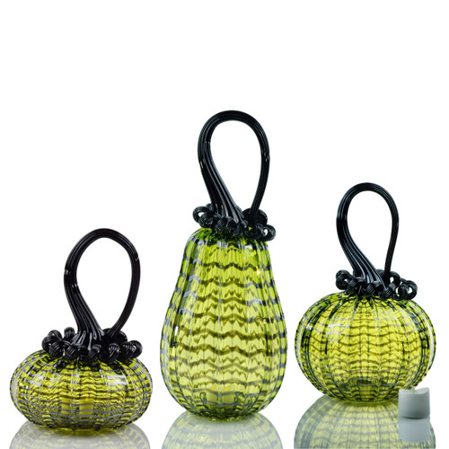 Enchanted Chartreuse -- Web Set with Tealight