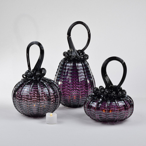 Dark Eminence Set Wrap Pumpkin with Tealight