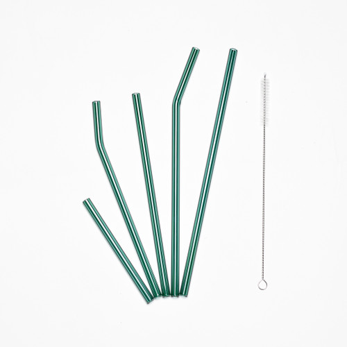 Lagoon Glass Straws