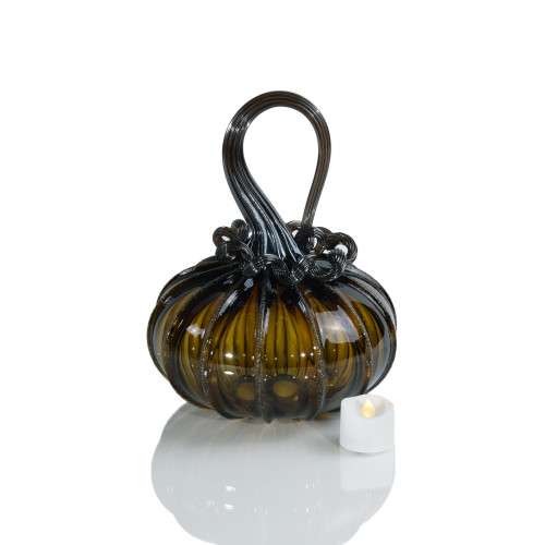 Toil & Trouble - Signature Squatty Pumpkin with Tealight