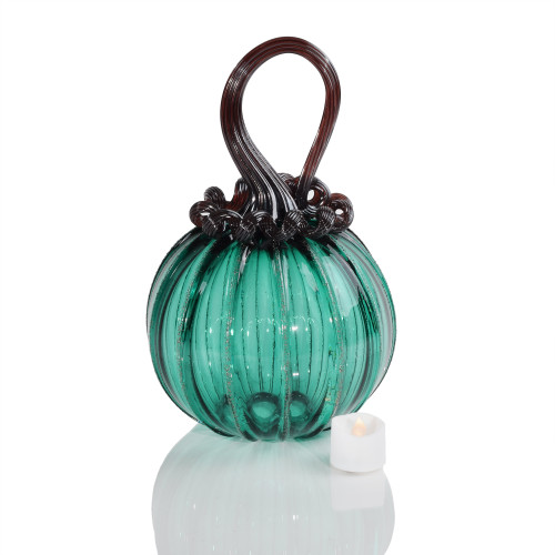 Charmed Round Pumpkin with Tealight