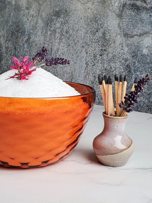 Grapefruit Diamond Cut Bowl