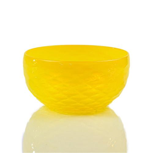 Lemon Diamond Cut Bowl