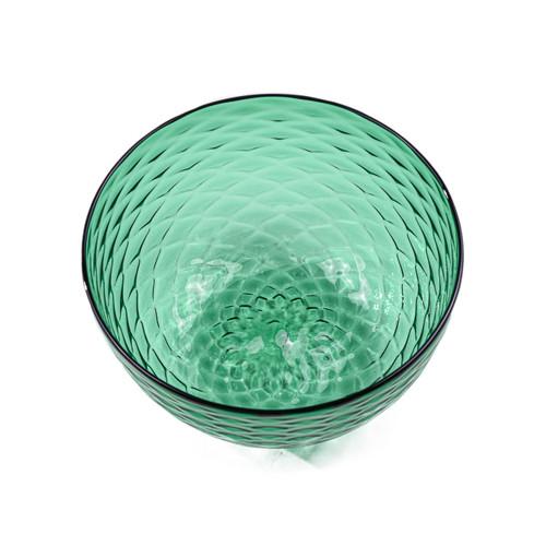 Spearmint Diamond Cut Bowl