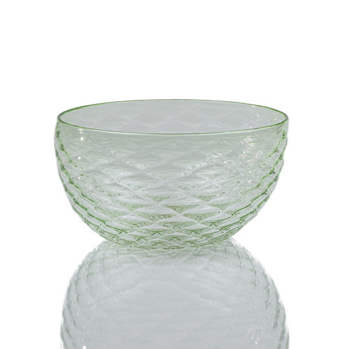 Wintergreen Diamond Cut Bowl