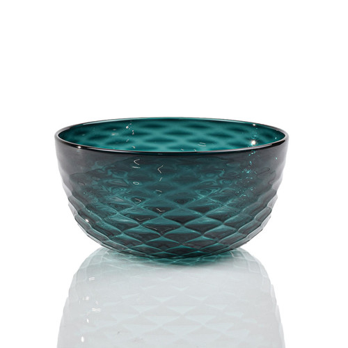 Deep Pine Diamond Cut Bowl