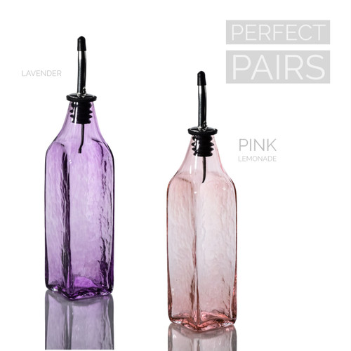 Lavender & Pink Lemonade Single-Tone Bottle Set