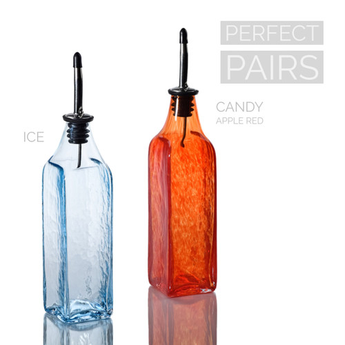 Ice & Candy Apple Red Single-Tone Bottle Set