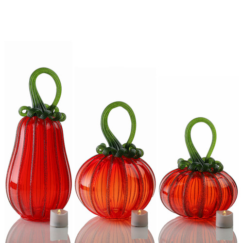 Bright Harvest -- Signature Set with Tealights