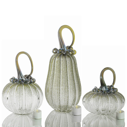 Bewitched Botanicals -- Velvet Glass Set with Tealights