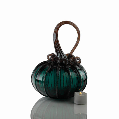 Deep Forest - Signature Squatty Pumpkin with Tealight