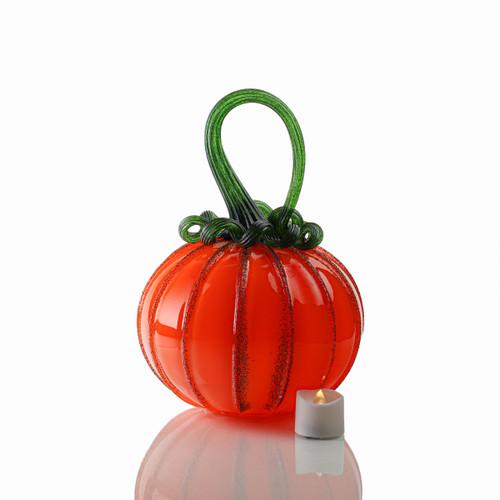 Saffron - Signature Round Pumpkin with Tealight