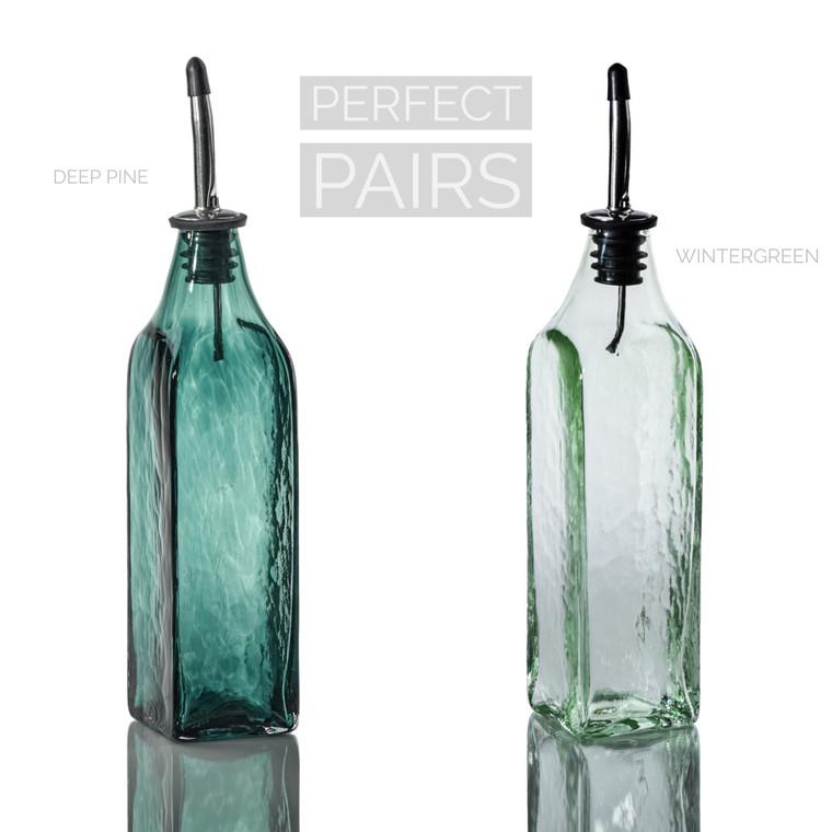 Deep Pine & Wintergreen Single-Tone Bottle Set