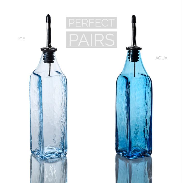 Ice & Aqua Single-Tone Bottle Set