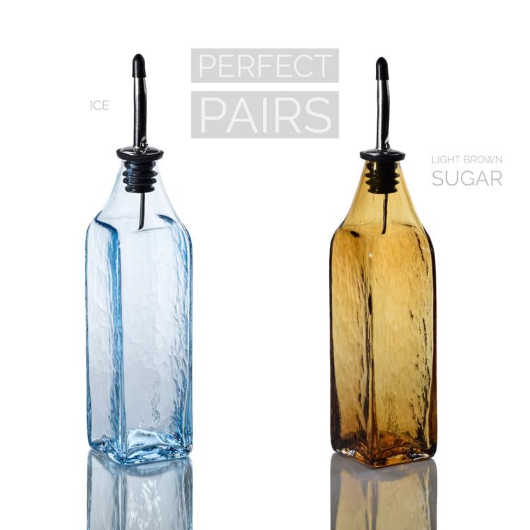 Ice & Light Brown Sugar Single-Tone Bottle Set