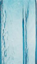 Aqua blue glass swatch from 2B Glass