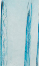 Copper blue glass swatch from 2B Glass