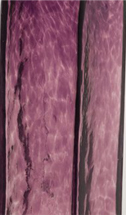 Purple glass swatch from 2B Glass