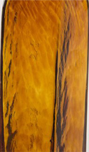 Amber glass swatch from 2B Glass