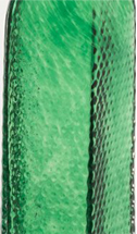 Emerald glass swatch from 2B Glass