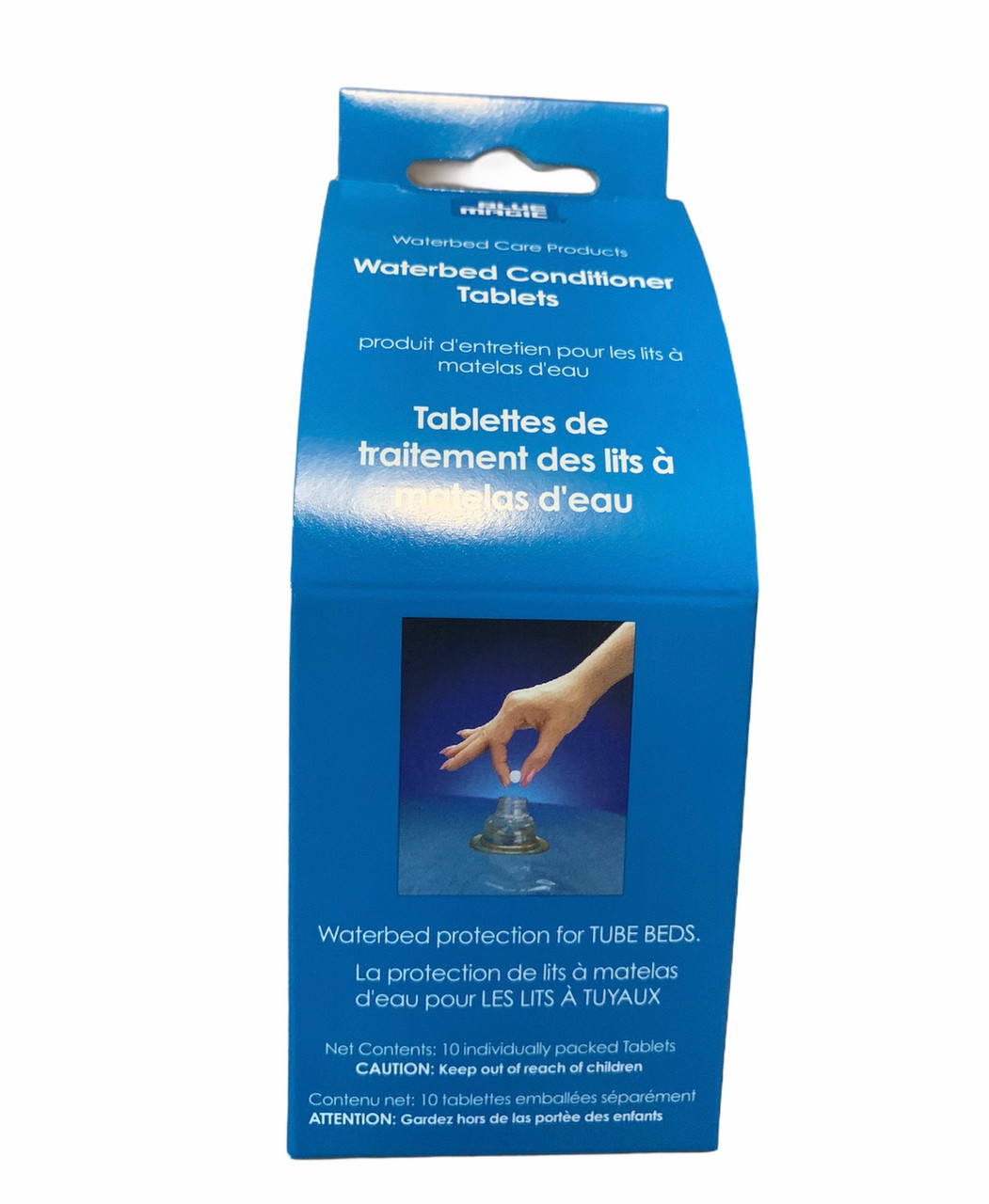 Waterbed Conditioning Tablets   Keep your softside waterbed tubes and water in excellent condition and avoid smells and foam with these tablets