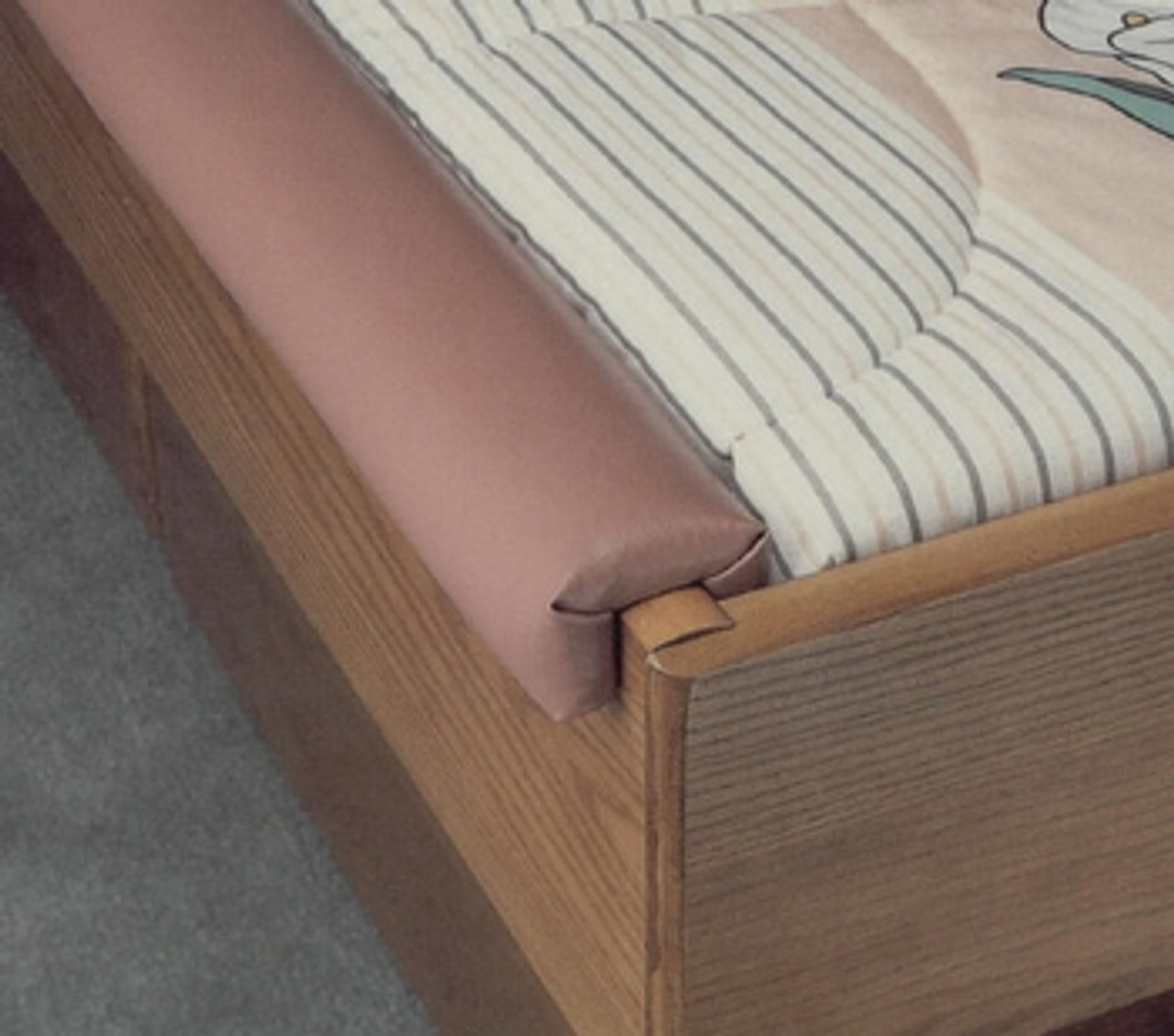 Hardside Padded Rails Padding Style for youth / day bed
