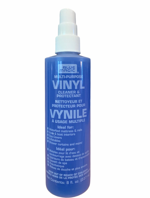 Waterbed Vinyl Cleaner Solution. Keep your waterbed neat and clean.