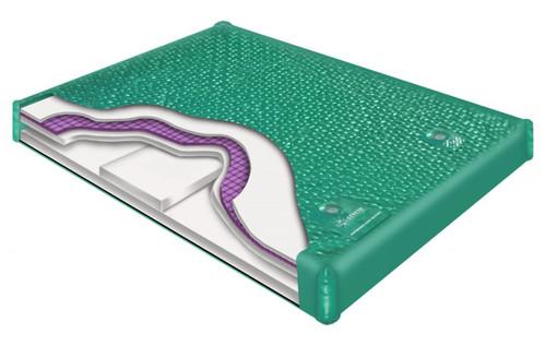 800 DX waveless hardside waterbed mattress