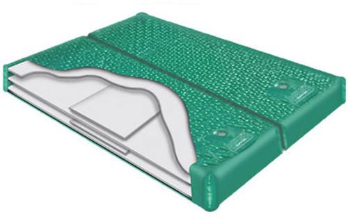 800 DXF Hardside Waterbed Dual Chamber Waveless waterbed mattress