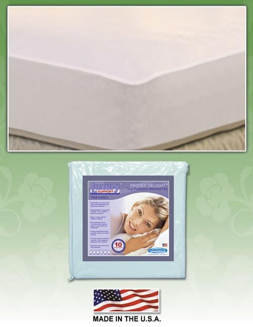 Pro Tec Delight Mattress Pad by Innomax protector, mattress, pad, pro-tec, protec, pro tec,