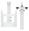 CE-CMHL-6-B, Clinton 12′ Heavy Duty Telescoping Ceiling Mount LCD/PVM Pole