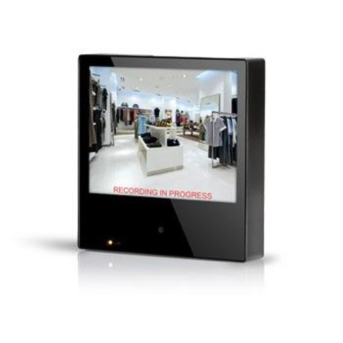 "CE-M8SD-B, Clinton 8"" Public View Monitor with 600 TVL Camera & Single Channel DVR"