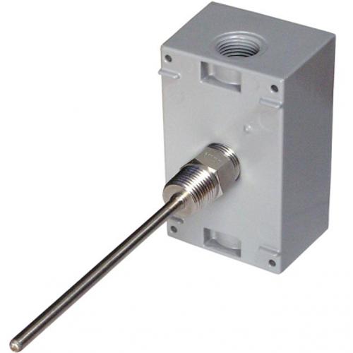 """BAPI BA/10K-3[11K]-I-4""""-SS-WP  Immersion Temperature Sensor, Stainless Steel Fitting"""