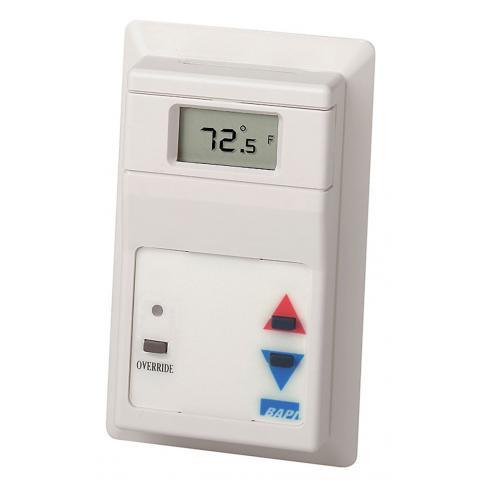 BAPI BA/RUPF-E00-N-5-10311-NL-CG Delta Style Room Temperature Sensor