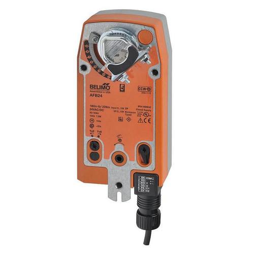 AFB24-SR Belimo Damper Actuator - Spring, 180in-lb, 2-10V, 24V 1