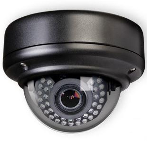 Weather Rated Vandal X Outdoor IR True Day/Night Dome Camera + Heaters (Black)