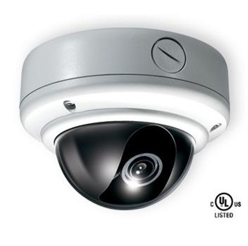 CE-VX20, Clinton Weather Rated Vandal X Day/Night Dome Camera 700 TVL Resolution (White)
