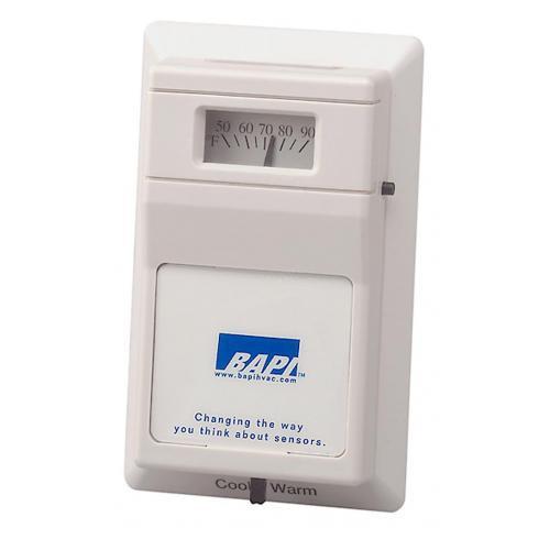 BAPI BA/1.8K-R80L6-J-CG Delta Style Room Temperature Sensor