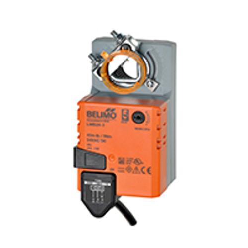 Belimo Damper Actuator - Rotary, 45in-lb, SR(2-10V), 24V