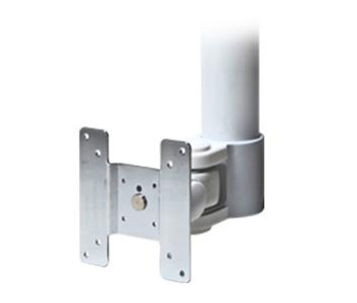 "CE-MMLCDNPT16, Clinton 1 1/2"" Threaded Pipe Mount (White)"