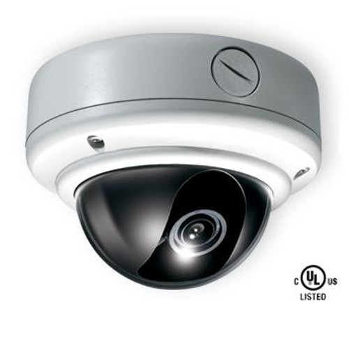 CE-VX45, Clinton Weather Rated Vandal X Outdoor Day/Night Dome Camera + Heaters and Fan (White) 1