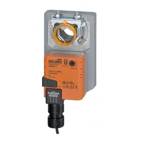 AMB24-SR Belimo Damper Actuator - Damp.Rotary, 180in-lb, SR (2-10V), 24V