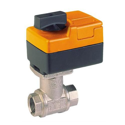 "B218+TR24-3, Belimo Valve Assembly - 2-way CCV, SS Trim, 3/4"", Cv 7.4 with Non-Spring Return, 18 in-lb, On/Off, 24V"